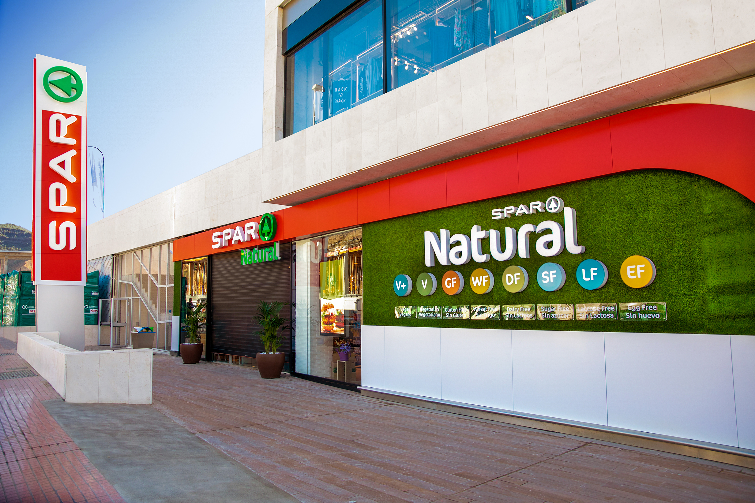 Fachada Spar Natural The Market