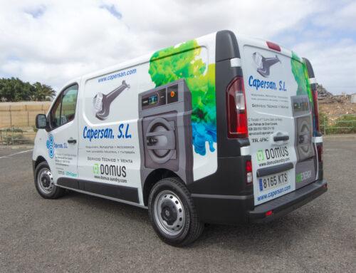 Rotulación de Vehículo – CAPERSAN