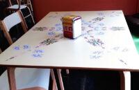 Impresión directa sobre mesa