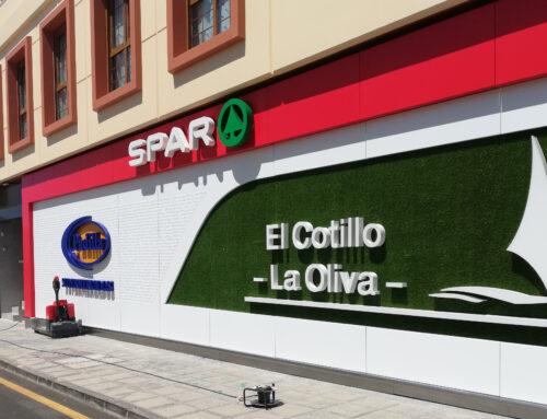 Fachada SPAR EL COTILLO-LA OLIVA (Fuerteventura)