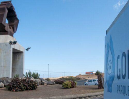 Señalización de El Parque Empresarial de El Goro
